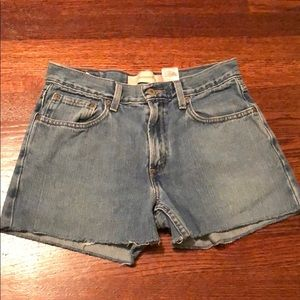 Vintage Levi's High Waist Cutoff Shorts